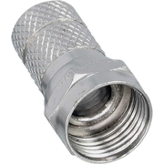 InLine 69910G coaxial connector F-type 10 pc(s)