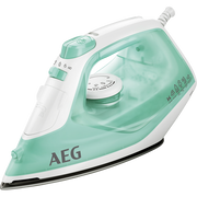 AEG EasyLine DB 1720 Dry & Steam iron Stainless Steel soleplate 2200 W Aqua colour, White
