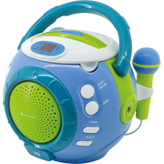 Soundmaster KCD1600 Personal CD player Blue