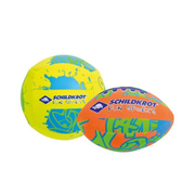 Schildkröt Funsports 970281 beach ball 9 cm Foam Orange, Yellow