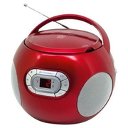 Soundmaster SCD2120 Portable CD player Red