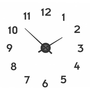 NeXtime 3074ZW wall clock Quartz wall clock Circle Black