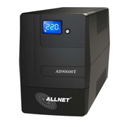 ALLNET ALL90600T Line-Interactive 0.6 kVA 360 W 4 AC outlet(s)
