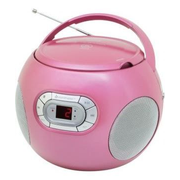 Soundmaster SCD2120 Tragbarer CD-Player Pink