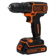 Black & Decker BDCD18-QW drill 650 RPM Black, Orange