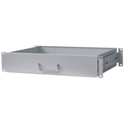 "Intellinet 19"" Drawer Shelf, 2U, Shelf Depth 350mm, Grey"