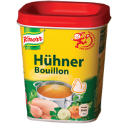 Knorr Hühnerbouillon Paste (200 g) Chicken stock/broth