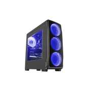 GENESIS Titan 750 Tower Black, Blue