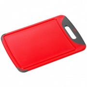 Silit 21.4227.4681 kitchen cutting board Rectangular Synthetic Grey, Red