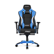 AKRacing Pro PC gaming chair Upholstered padded seat Black, Blue