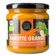 Little Lunch Karotte Orange 350 ml Ready-to-eat Canned vegetable soup