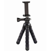 Hama Flex tripod Smartphone/Action camera 3 leg(s) Black