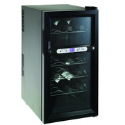 MyWave MWWT-18B wine cooler Thermoelectric wine cooler Freestanding Black 18 bottle(s)