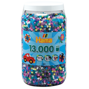 Hama Beads 211-69 beads Tube bead Multicolour 13000 pc(s)