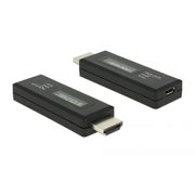 DeLOCK 63327 cable gender changer HDMI-A 19 pin USB Type Micro-B Black
