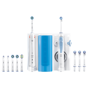 Oral-B Smart 5000 + Oxyjet Adult Rotating-oscillating toothbrush Blue, White