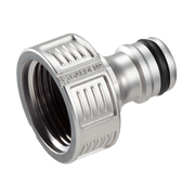 Gardena 18241-50 water hose fitting Hose connector Metal Silver 1 pc(s)
