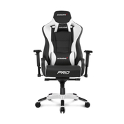 AKRacing Pro PC gaming chair Upholstered padded seat Black, White