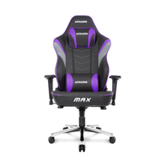 AKRacing Max PC gaming chair Upholstered padded seat Black, Grey, Violet