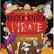Hachette UK Knock Knock Pirate book English Paperback 32 pages