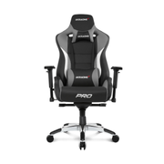 AKRacing Pro PC gaming chair Upholstered padded seat Black, Grey
