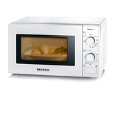Severin MW 7891 microwave Countertop Grill microwave 20 L 700 W Black, White