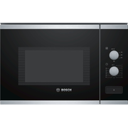 Bosch Serie 4 BFL550MS0 microwave Built-in Solo microwave 25 L 900 W Black, Stainless steel