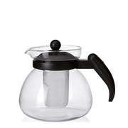 Montana 057839 teapot Single teapot 1400 ml Black, Transparent