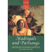 ISBN Madrigals and Partsongs book 384 pages