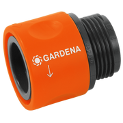 Gardena 2917-20 water hose fitting Hose connector Black, Orange 1 pc(s)
