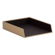 Rössler Papier 1335452620 desk tray/organizer Brown