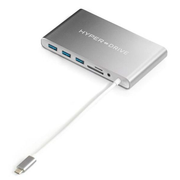 HYPER HyperDrive Ultimate USB-C Hub for MacBook, PC, USB-C Devices