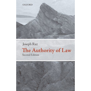 ISBN The Authority of Law ( Essays on Law and Morality ) book English Hardcover 360 pages