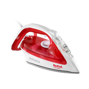 Tefal EasyGliss FV3962E0 Dry & Steam iron CeramicGlide soleplate 2400 W Red, White