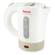 Tefal Travel'City KO120130 Wasserkocher 0,5 l 650 W Weiß