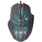 Defender Doom Fighter GM-260L mouse Ambidextrous USB Type-A Optical 3200 DPI