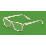 Pantone № Four Unisex Rectangle Full rim Translucent