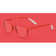 Pantone № Three Unisex Rectangle Full rim Red