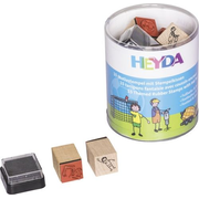 HEYDA StampSet Football&Streetwork 15pces