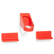 Cycloc Hero Indoor bicycle holder Wall-mounted Red