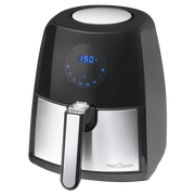 ProfiCook PC-FR 1147 H Single 2.5 L Stand-alone 1500 W Hot air fryer Black, Stainless steel