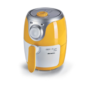 Ariete Airy fryer mini Single 2 L Stand-alone 1000 W Hot air fryer Silver, White, Yellow