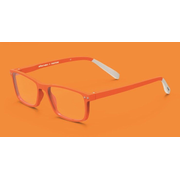 Pantone № Four Unisex Rectangle Full rim Orange
