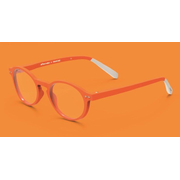 Pantone № Two Unisex Oval Full rim Orange