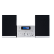 Thomson MIC122DABBT home audio system Home audio micro system 50 W Silver