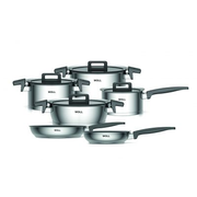 WOLL NCSET002 Black, Stainless steel Stainless steel