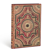 Paperblanks Ventaglio Rosso Kraft writing notebook 144 sheets Brown