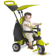 smarTrike Glow 4 in 1 Baby Trike tricycle Children Front drive