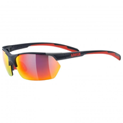 Uvex sportstyle 114 Cycling glasses Rimless Grey Interchangeable lenses