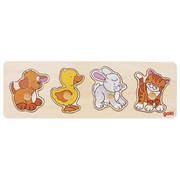 Goki 57866 Shape puzzle 4 pc(s)